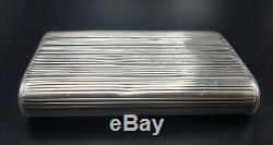 Rare Old Case Pyrogenic In Russian Cigarette Cigarette Case Russian Solid Silver