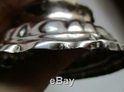 Saleron Sterling Silver Punch Augsburg Germany 18th Century Old Silverware