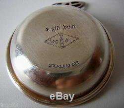Van Cleef & Arpels Small Luxury Ashtray Sterling Silver Collection Of Old