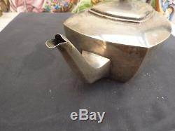 Very Beautiful And Teapot Old English Sterling Silver Sterling