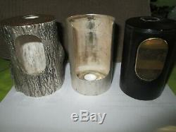 Very Unusual Year Old Lighter 70 Boucheron Gold And Silver Eagle Punches