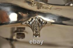 Vinegar Cruet-old Sterling Silver Solid Silver Antique XVIII S Oil Vinegar