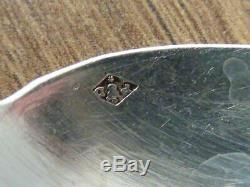 12 anciennes petites cuillères en argent massif minerve coffret en bois Nap III