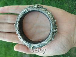 Ancien Bracelet en argent YEMEN