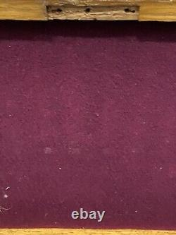 Ancien Coffret Couvert Couteau Et Fourchette À Dessert George Howson Silver