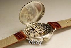 Ancienne montre ULYSSE NARDIN CHORONOGRAPHE VALJOUX 13 VZ 1900 vintage watch