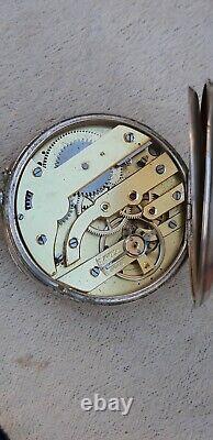 Ancienne montre à gousset militaire 24h MAGNIEN & Cie