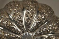 Boite Coffret Ancien Argent Massif Indochine Antique Silver Indian Chinese Box