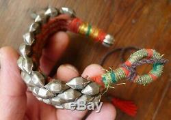 Bracelet Argent Ancien Ethnique Inde Rajasthan Antique Indian Silver Bangle