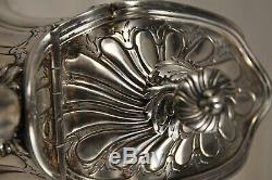 Cafetiere Ancien Argent Massif Tête-a-tête Lapar Antique Solid Silver Coffee Pot