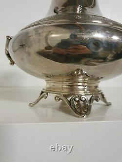 Cafetière Pot à Lait Sucrier argent massif ancien poinçon solid silver
