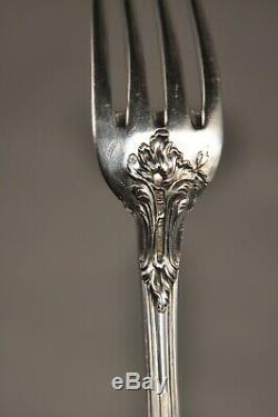 Couvert Entremet Ancien Argent Massif Maillard 1,2k Antique Solid Silver Cutlery