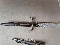 Curiosà dague de vertu erotic maison close couteau ancien prostitué romantique