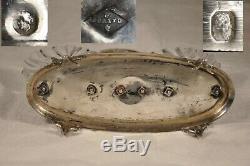Saliere Saleron Ancien Argent Massif Vieillard Antique Solid Silver Salt Cellar