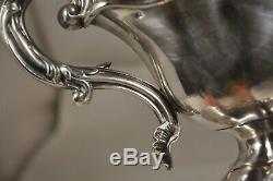 Sauciere Ancien Argent Massif Mo Debain Antique Solid Silver Saucer 412 Gr