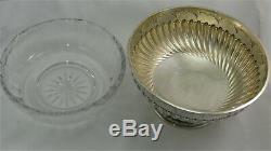 Très beau saladier/coupe argent massif ancien trophée hippique Biarritz 1,010 kg